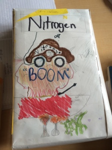 "Nitrogen ""Boom"" cereal"