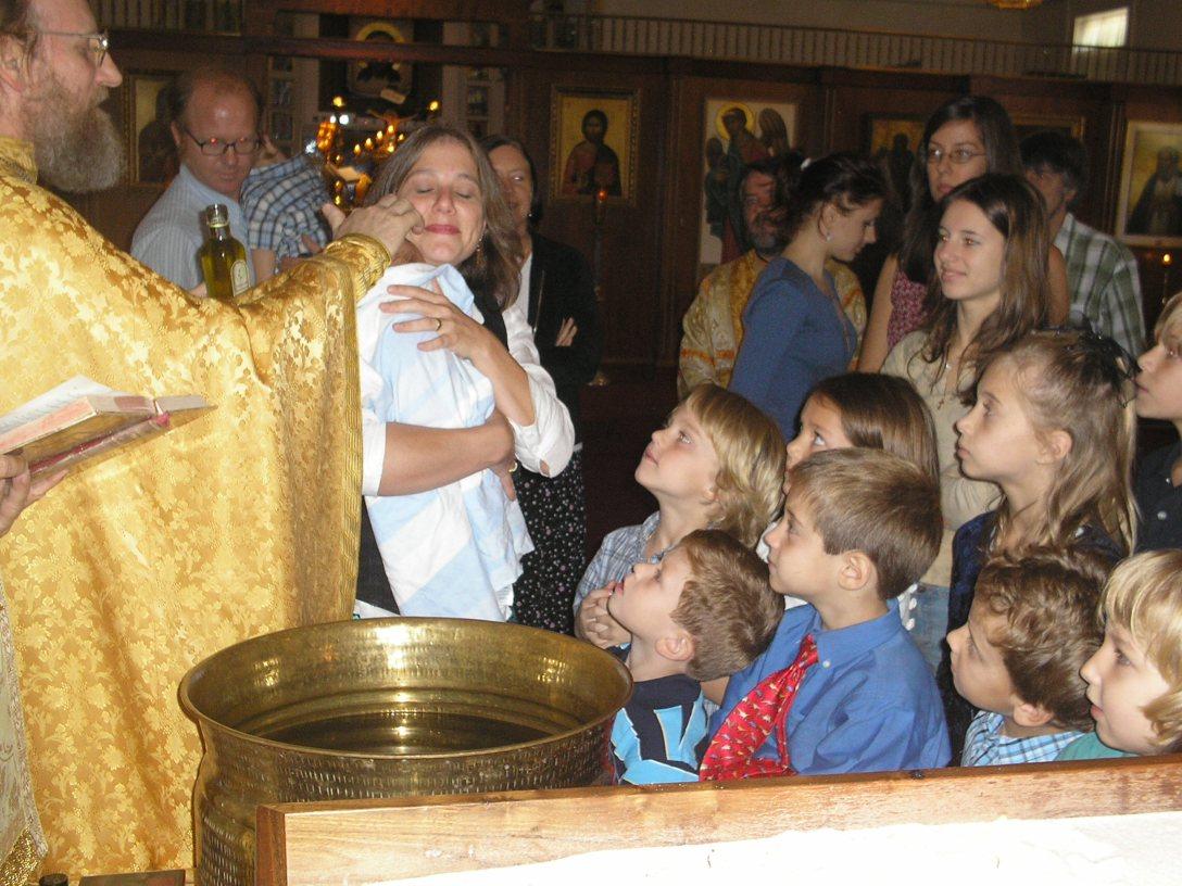 Children love baptisms