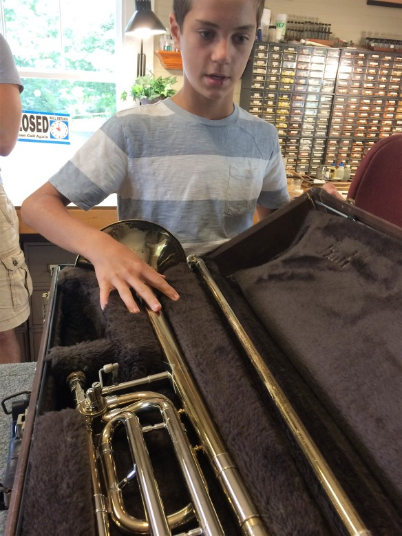 buying a trombone