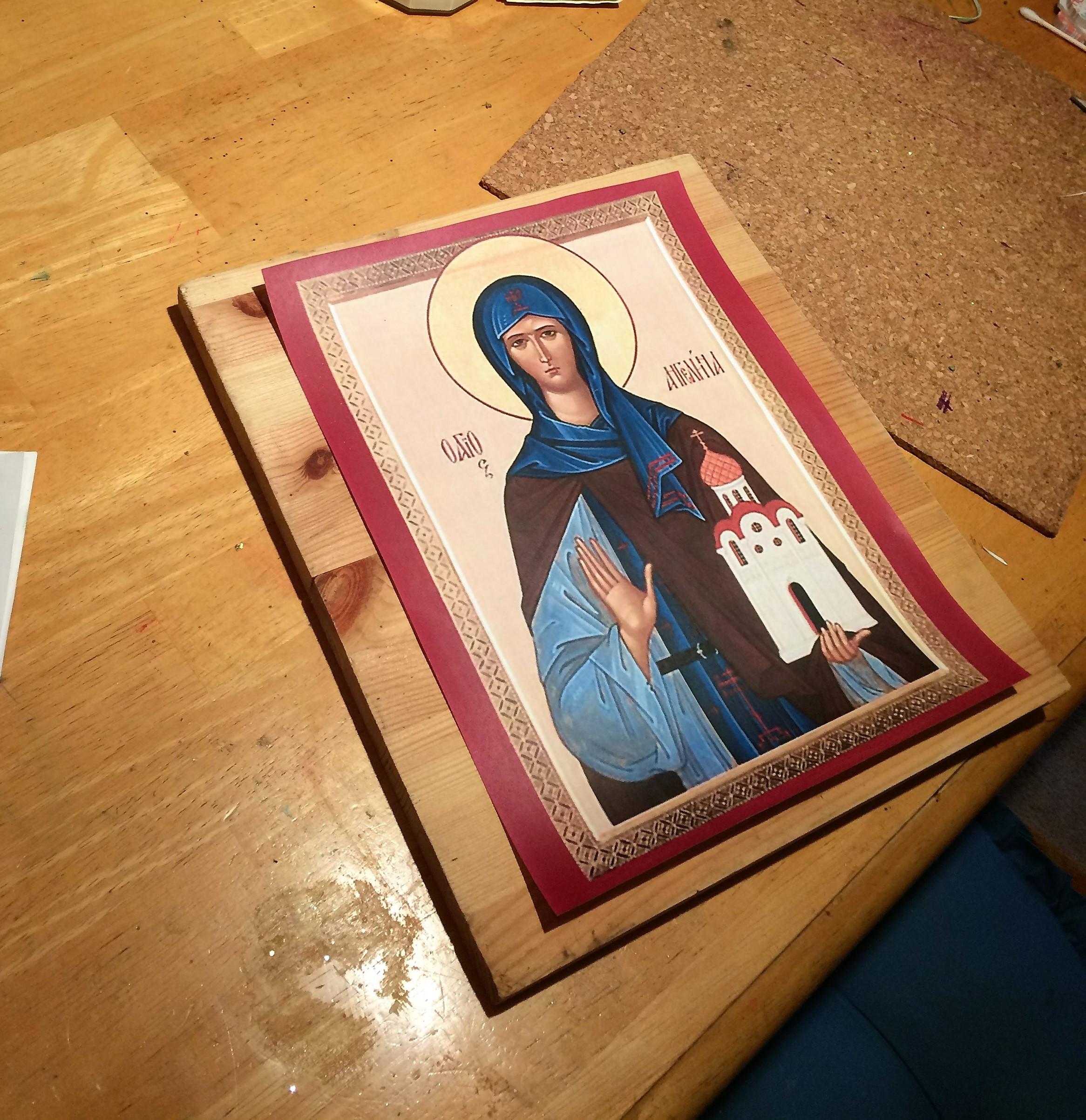 Life of St. Angelina