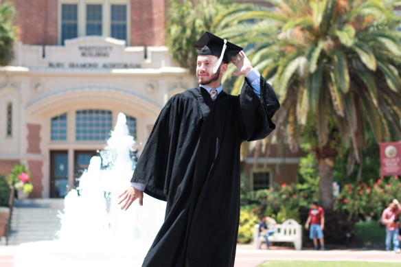 grad in the sun