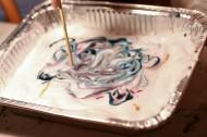 shaving cream in tin