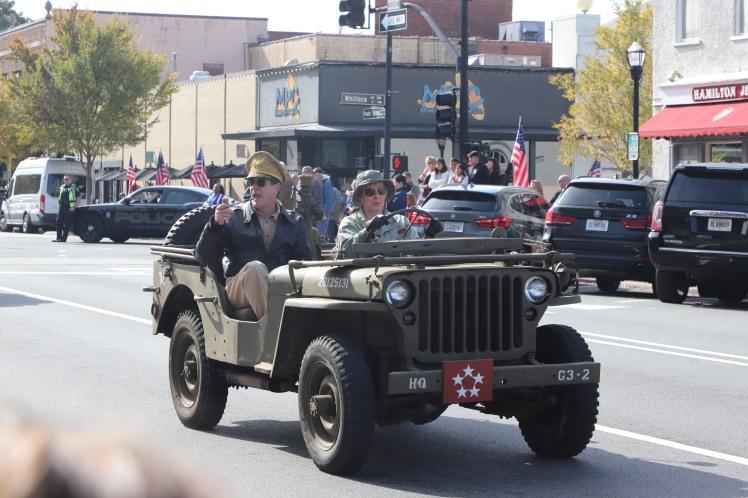 jeep at the parade