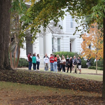 student guided tours